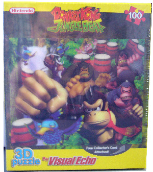 3D Puzzle - Donkey Kong Jungle Beat