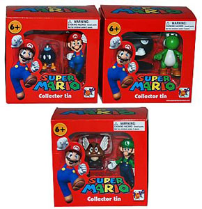Nintendo Tin - Super Mario Set of 3