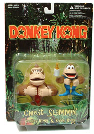 Donkey Kong and Kiddy Kong