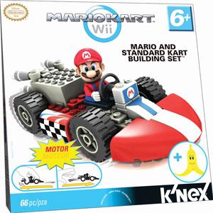 Mario Kart Wii - KNex Standard Kart Build Kit - Mario