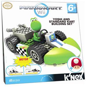 Mario Kart Wii - KNex Standard Kart Build Kit - Yoshi