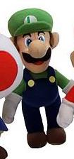 6-Inch Nintendo Luigi Plush