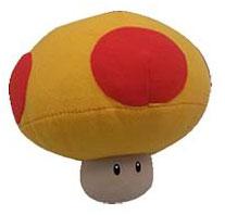 6-Inch Nintendo Mushroom Plush