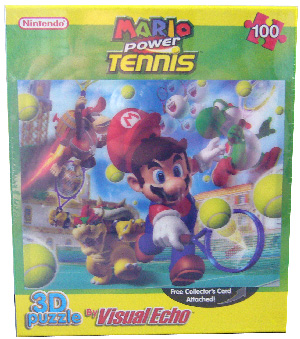 3D Puzzle - Mario Power Tennis
