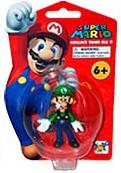 4-Inch Super Mario PVC - Luigi