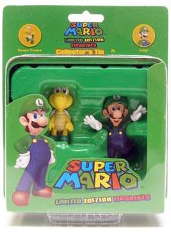 Nintendo Collectors Tin - Koopa Troopa and Luigi
