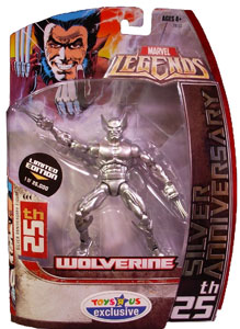 25th Silver Anniversary - Limited Wolverine