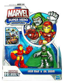 Marvel Super Hero Adventures - Iron Man and Dr Doom