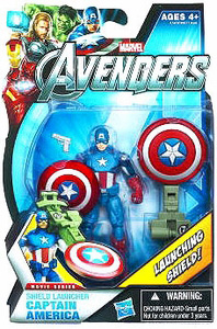 Marvel The Avengers - 3.75-Inch Shield Launcher Captain America