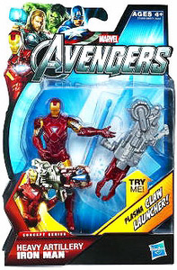 Marvel The Avengers - 3.75-Inch Heavy Artillery Iron Man