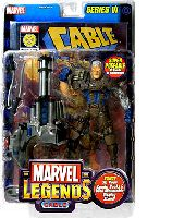 Marvel Legends Cable Brown Costume Variant