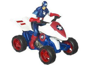Captain America Cruisers - Zoom N Go Trail Trooper ATV