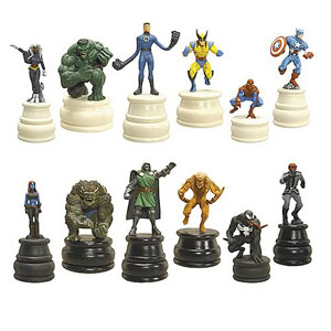 Marvel Heroes Chess Pieces Series 1