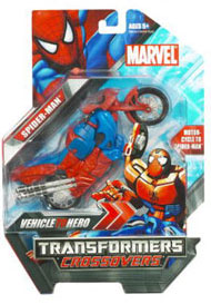 Marvel Transformers Crossovers - Spider-Man