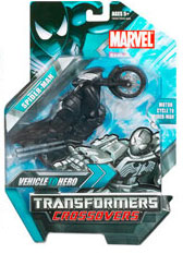 Marvel Transformers Crossovers - Black-Suit Spider-Man