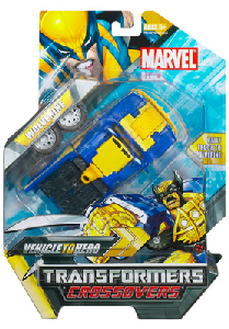 Marvel Transformers Crossovers - Wolverine
