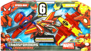 Marvel Transformers Crossovers - Spider-Man and Iron Man