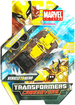 Marvel Transformers Crossovers - Brown Wolverine