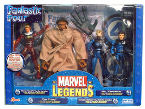 Marvel Legends Fantastic Four - 4 Figure Box Set