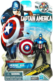 Captain America First Avengers - 3.75-Inch Heroic Age - Bucky Captain America