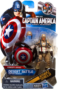 Captain America First Avengers - 3.75-Inch Desert Battle Captain America