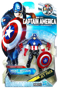 Captain America First Avengers - 3.75-Inch Night Mission Captain America