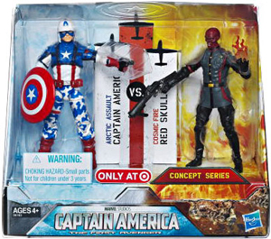 Captain America First Avengers - 4-Inch 2-Pack - Captain America vs Red Skull