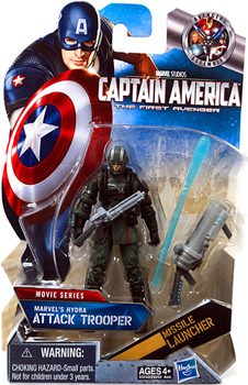 Captain America First Avengers - 3.75-Inch Hydra Attack Trooper Dark Green