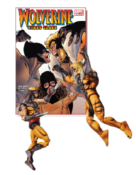 X-Men First Class Comics 2-Pack - Wolverine vs Sabertooth