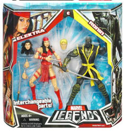 Hasbro Marvel Legends 2-Pack: Elektra and Ronin