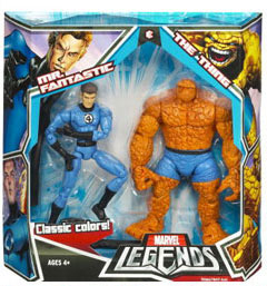 Hasbro Marvel Legends 2-Pack: Mr Fantastic And The Thing