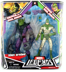Hasbro Marvel Legends 2-Pack: Skrull and Kree Soldiers