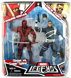 Hasbro Marvel Legends 2-Pack: Hand Ninja and Nick Fury