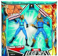 Hasbro Marvel Legends 2-Pack: Invisible Woman and Human Torch