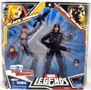 Hasbro Marvel Legends 2-Pack Exclusive: Black Widow and Winter Soldier Variant