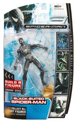 Hasbro Marvel Legends Sandman Series - Black Suited Spider-Man
