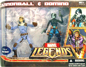 Hasbro Marvel Legends - Cannonball and Domino