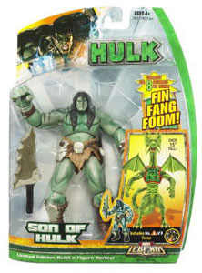 Hasbro Marvel Legends Hulk - BAF Fin Fang Foom - Son of Hulk