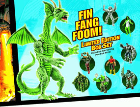 SDCC Hasbro Marvel Legends Hulk - Set of 8 [Fin Fang Foom]