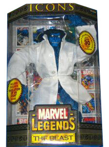 Marvel Legends Icons - Beast Lab Coat Variant