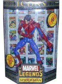 Marvel Legends Icons - Spider-Man Unmasked Variant