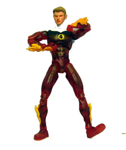 Transparent Human Torch Loose