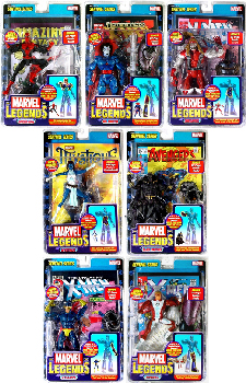 Marvel Legends Series 10 Set of 7