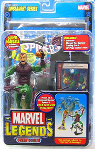 Marvel Legends: Unmasked Green Goblin