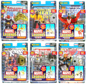 Marvel Legends Series 14 Set of 6 - Build MOJO