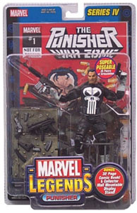 Marvel Legends Punisher Comic Edition