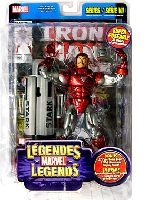 Marvel Legends Silver Centurion Iron Man