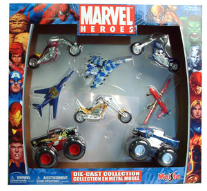 Marvel Heroes Die-Cast Collection