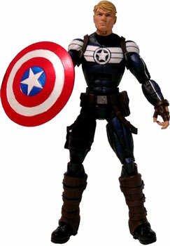 Marvel Legends 2012 - BAF Terrax - Steve Rogers