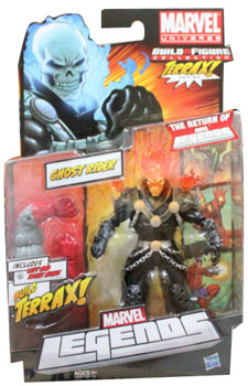 Marvel Legends 2012 - BAF Terrax - Ghost Rider - Orange Flame Variant